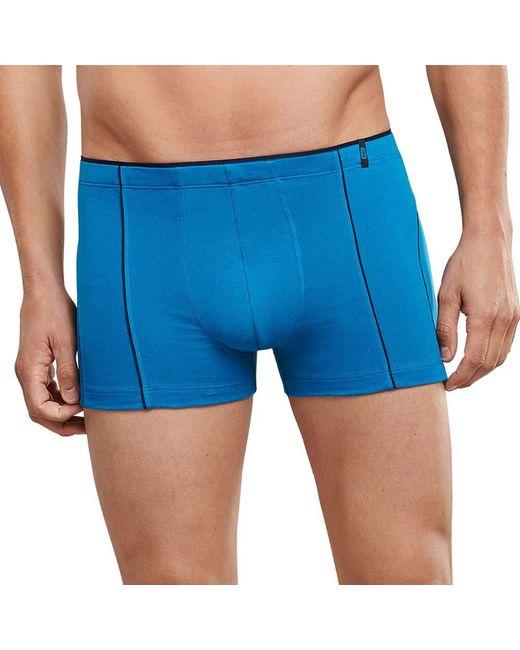 Schiesser 95/5 Shorts Boxershorts in Blue für Herren