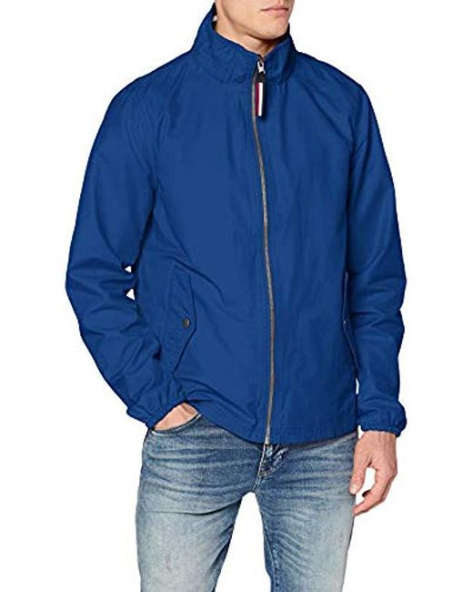 88443a9af Men's Blue Tjm Essential Hooded Jacket