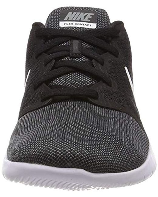 18b48b1290201 Nike Flex Contact 2 Competition Running Shoes in Black for Men - Lyst
