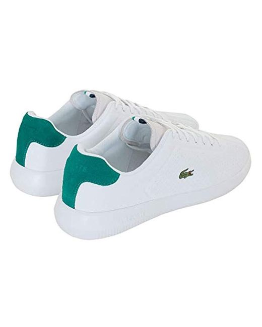 d67316fe Lacoste Synthetic Avance 119 1 Sma Trainers in White for Men - Save ...
