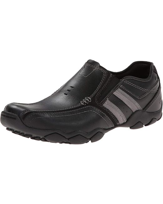 Skechers Black Diameter Zinroy Shoes for men