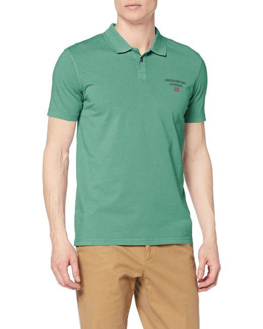 Eonthe Polo Napapijri pour homme en coloris Green