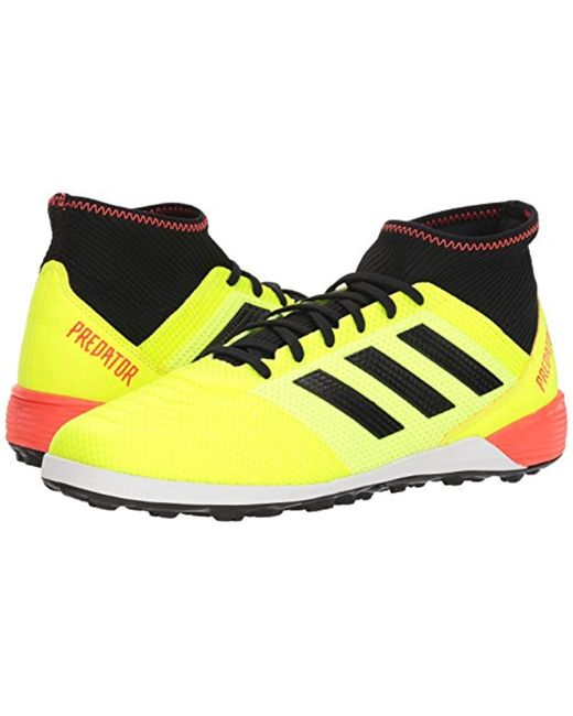 Men's Yellow Predator Tango 18.3 Tf Soccer Shoe
