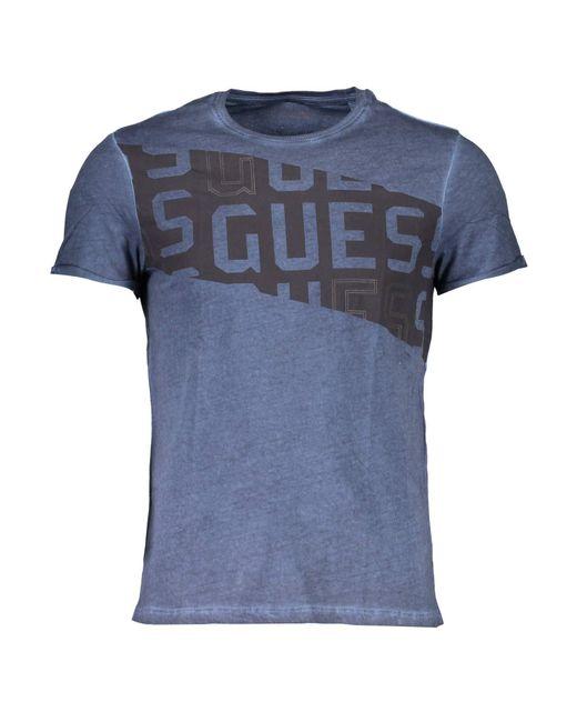 Cn SS tee 1 Camiseta Guess de hombre de color Blue