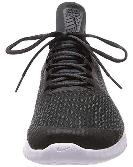12c47b3e9634b Nike Renew Rival Low-top Sneakers in Black for Men - Lyst