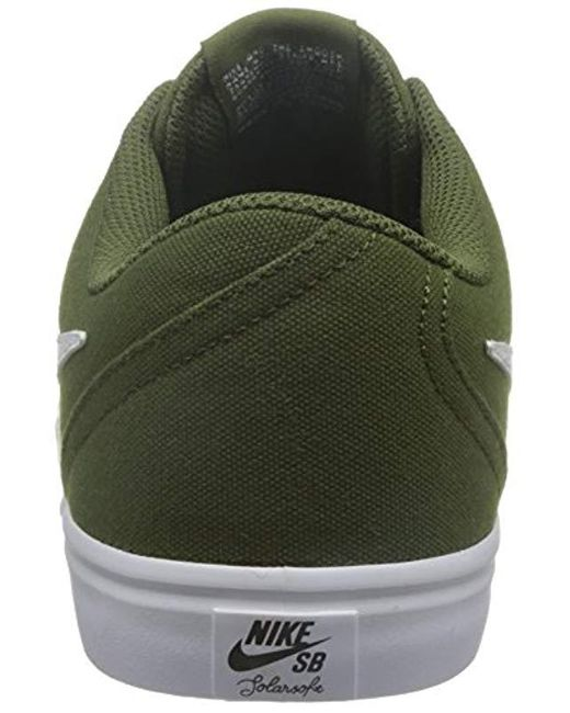 6d3ce93be0d60 Men's Shoes, Colour Green, Brand, Model Shoes Sb Check Solar Cnvs Green