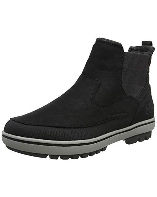 Helly Hansen Garibaldi V3 Slip On Snow Boots In Black For Men Lyst