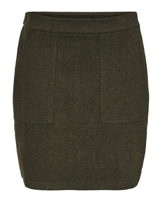 Vero Moda Black VMFELICITY HW ABK Skirt JRS Rock