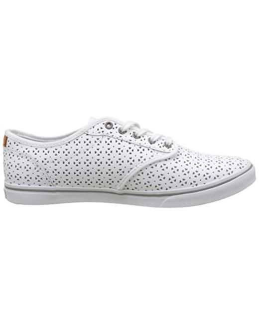 Vans Wm Atwood Dx Low-top Sneakers in White - Lyst