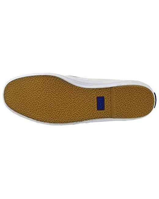 748816306d119 Men's White Champion Slip On Leather Sneaker