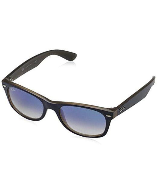2166ec295bc Lyst - Ray-Ban New Wayfarer Square Sunglasses