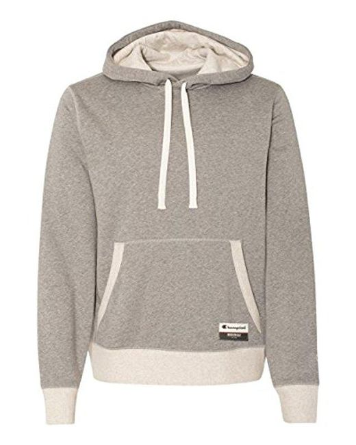 Men's Sweatshirt Champion Sueded Fleece Authentic Originals