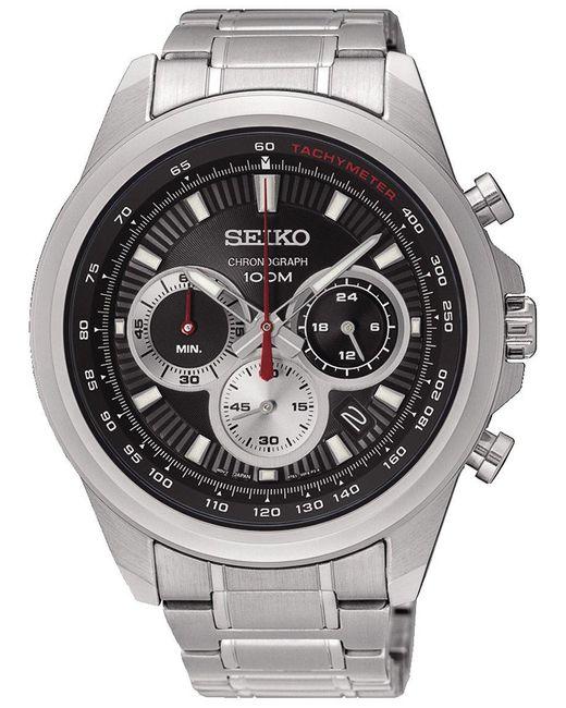 NEO SPORTS orologi uomo SSB241P1 di Seiko in Metallic da Uomo