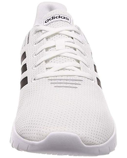 pretty nice becb1 0475a ... Adidas - White Asweerun Fitness Shoes for Men - Lyst ...