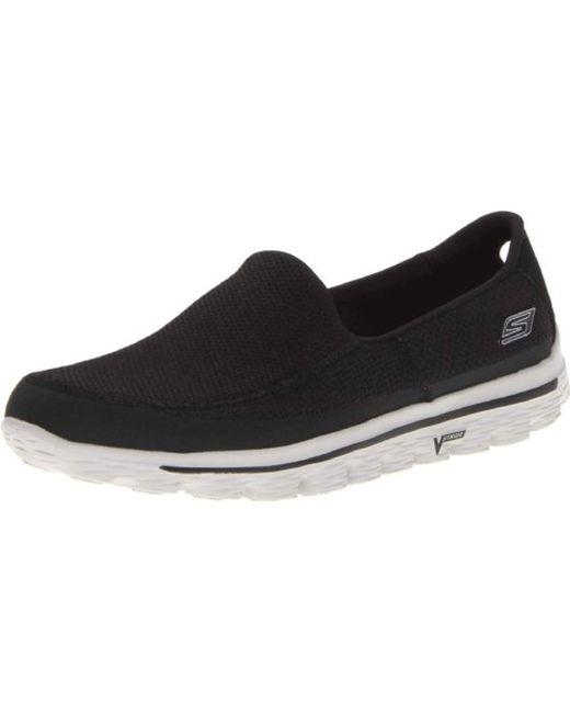 Skechers Go Walk 2 Sneakers in Black