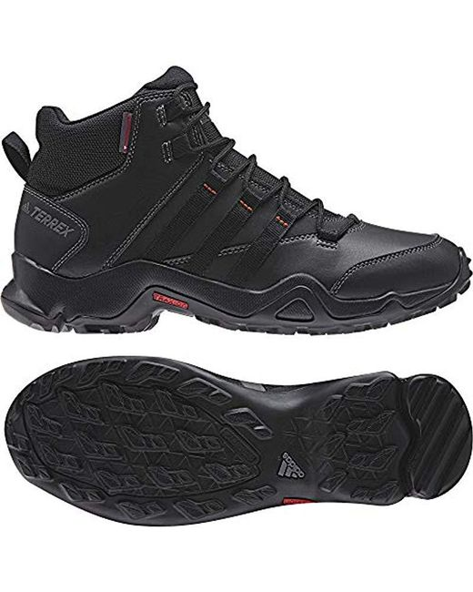 the sale of shoes huge sale half price Men's Black Terrex Ax2r Beta Mid Cw High Rise Hiking Boots