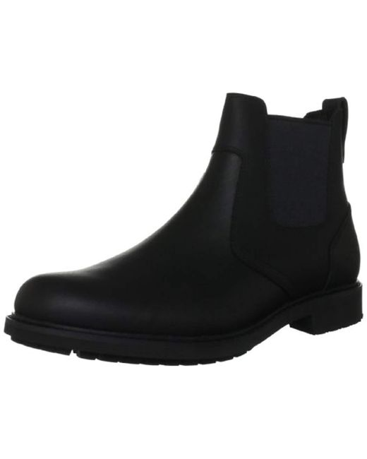 4eb3486ea01 Men's Black Stormbuck Pull-on, Chelsea Boots