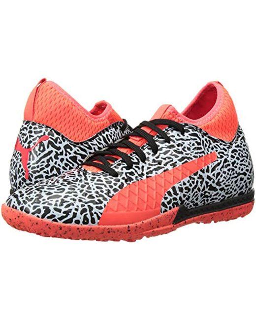831aa802450 ... PUMA - Red Future 18.3 Texture Tt Soccer Shoe for Men - Lyst ...