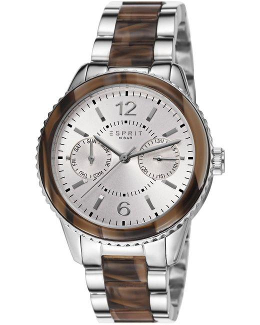 Orologio al Quarzo ES106742001 35.5 mm di Esprit in Metallic