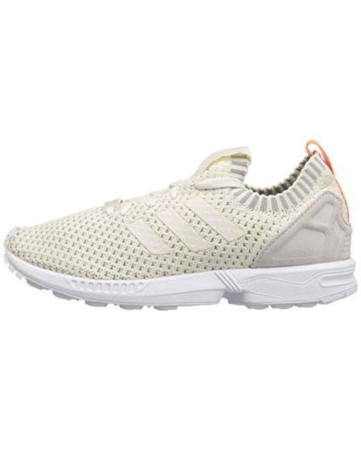 adidas Originals Zx Flux Pk W Running Shoe, Chalk White