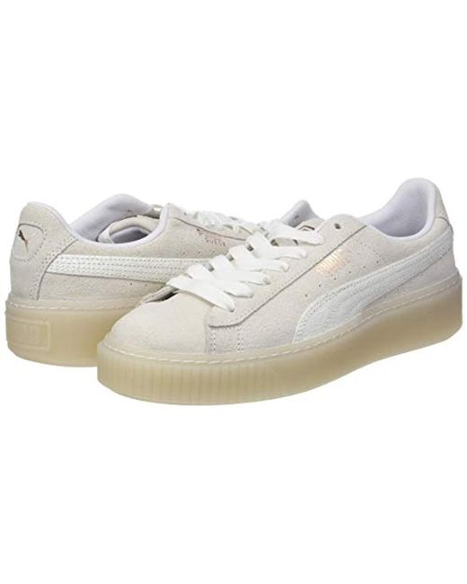 more photos 12687 94087 PUMA Suede Platform Artica Wn's Low-top Sneakers in White ...