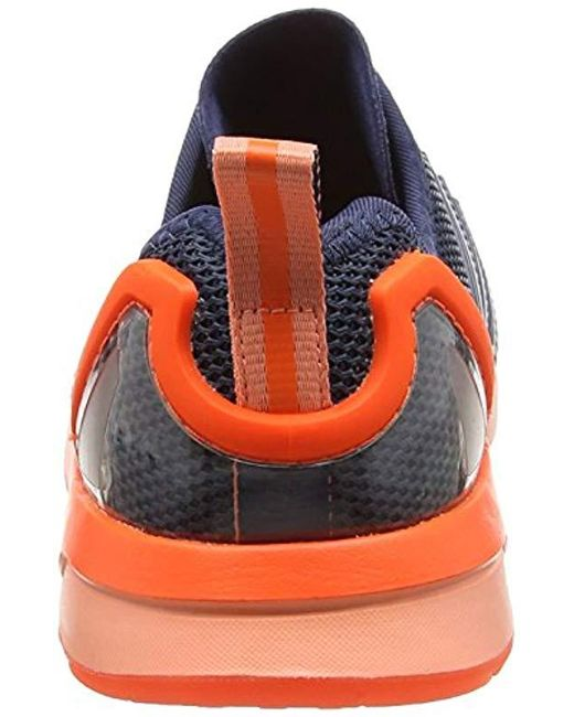 22fdaef15e49f adidas Unisex Adults  Zx Flux Adv Running Shoes in Blue for Men - Lyst