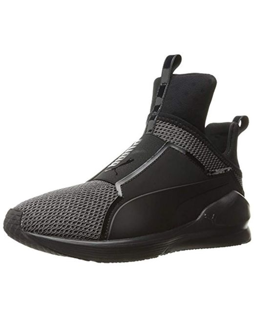 ccfd072f2a8e7b PUMA - Black Fierce Knit Cross-trainer Shoe - Lyst ...