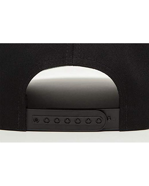 e35090b39 Levi's Big Batwing Non Flex Fit Puff Embroid Flat Cap in Black for ...