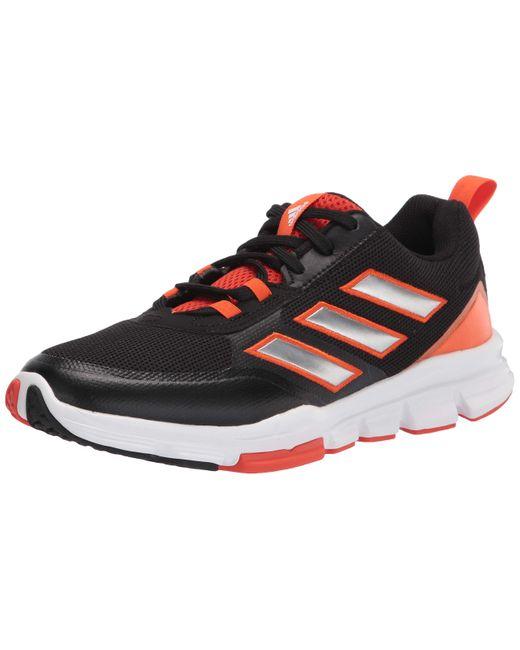 ,s,speed Trainer 5,black/silver Metallic/team Orange,9.5