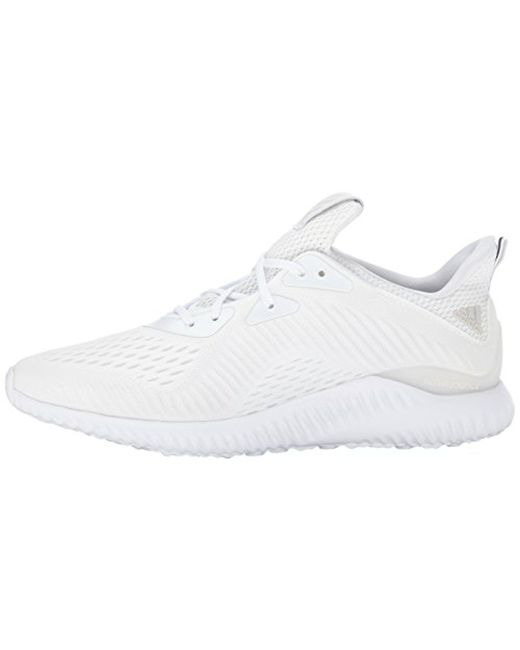 8df8de682 Lyst - adidas Alphabounce Em M Running Shoe in White for Men - Save 21%