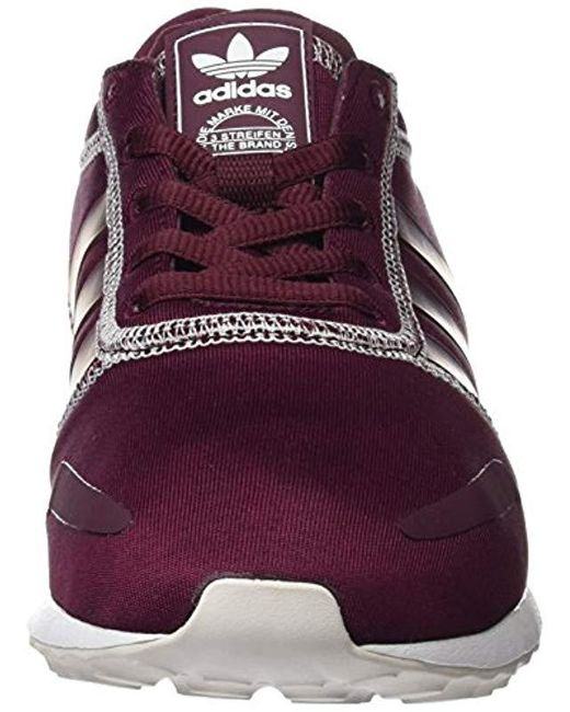really comfortable wholesale first look adidas Los Angeles W Low-top Sneakers in Cherry -White ...
