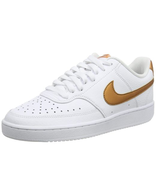 Nike White Court Vision Low Sneaker