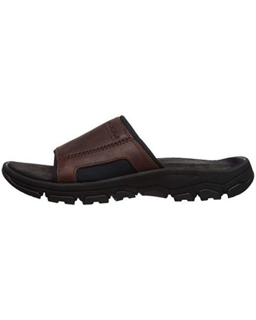 Timberland Leather Rosindale Sensorflex Mules in Black for
