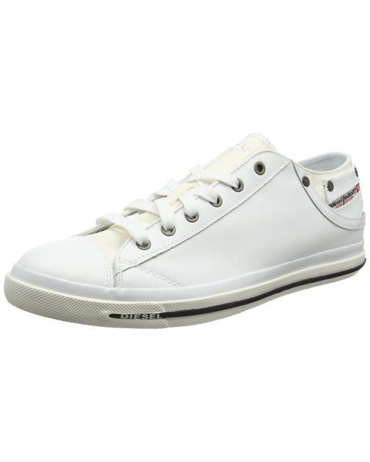 DIESEL Magnete Exposure Low I Sneaker in White für Herren