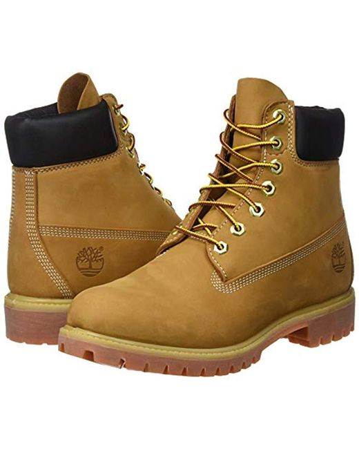 447e237c39d Timberland 6 Inch Premium Waterproof Boots in Brown for Men - Save 9 ...
