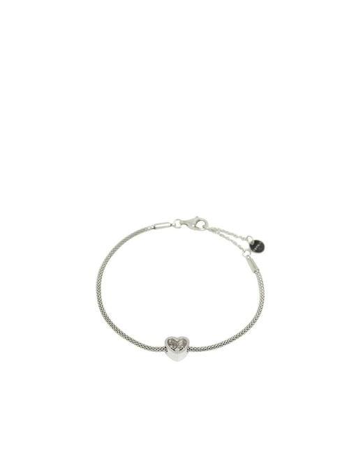 Bracelet Acier Inoxydable 21 cm Esprit en coloris Metallic