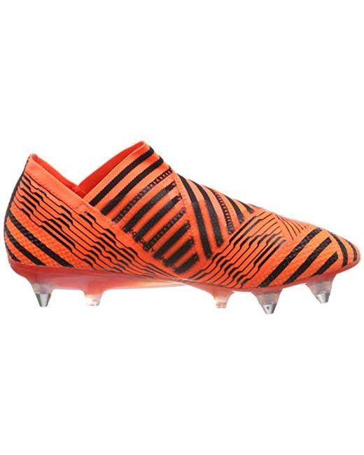 237e8ee9f2fe3 adidas Nemeziz 17+ 360agility Sg Fitness Shoes in Orange for Men - Lyst