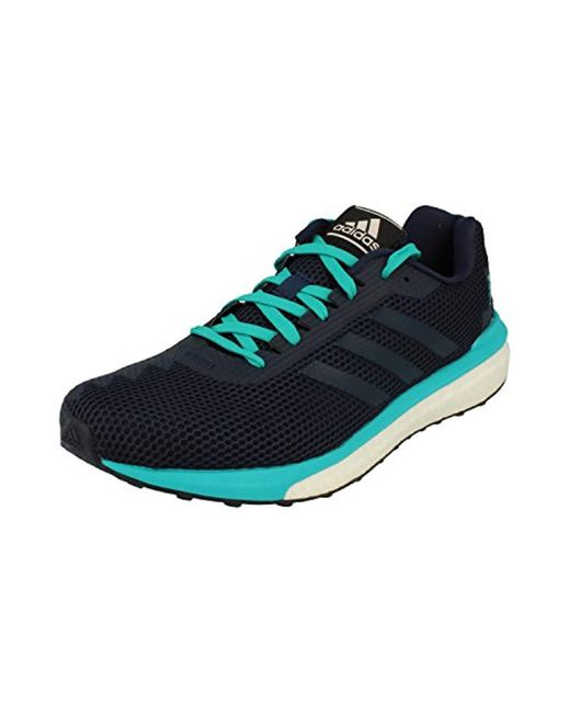 new concept db2b8 1ca35 Adidas - Blue Vengeful M Running Shoes for Men - Lyst ...