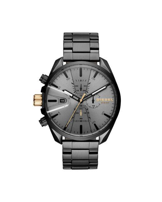 Chronographe Quartz Montre avec Bracelet en Acier Inoxydable DZ4474 DIESEL pour homme en coloris Gray