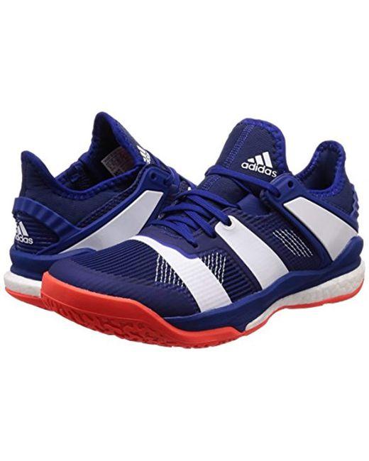 gamme complète d'articles sélectionner pour le dédouanement date de sortie Men's Blue Stabil X Handball Shoes