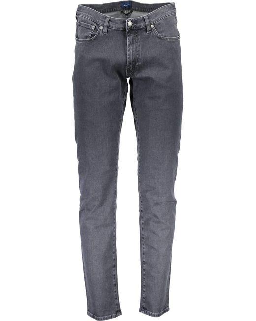 Slim Grey Jeans 1001608 di Gant in Blue da Uomo