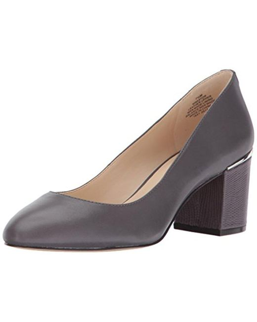 Nine West - Gray Astor Pump - Lyst