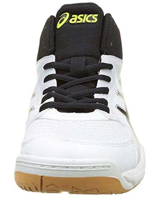 37c5ed4f10fcd Men's Black Gel-task Mt Volleyball Shoes