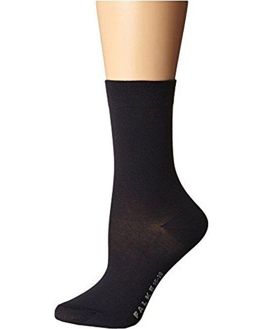 Falke - Blue Cotton Touch Trouser Socks - Lyst