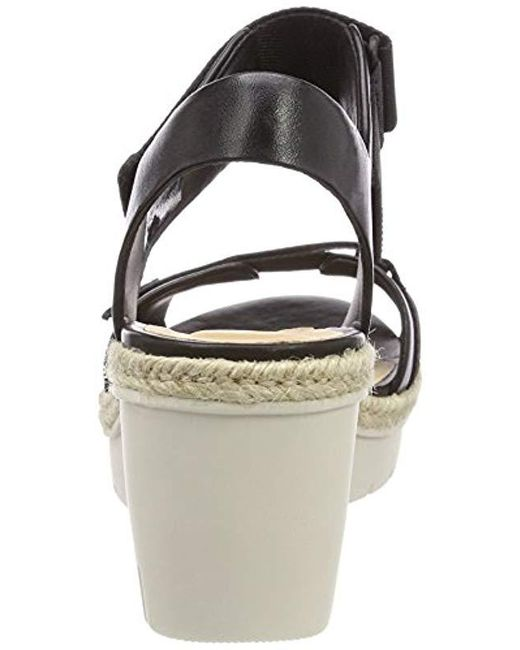 602cfcbed21 Clarks Palm Shine Ankle Strap Sandals in Black - Save 32.0% - Lyst