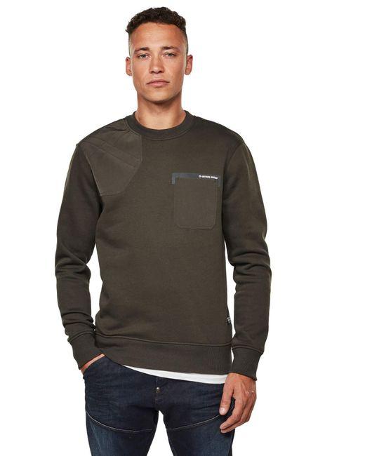 Hunting Patch suéter G-Star RAW de hombre de color Green