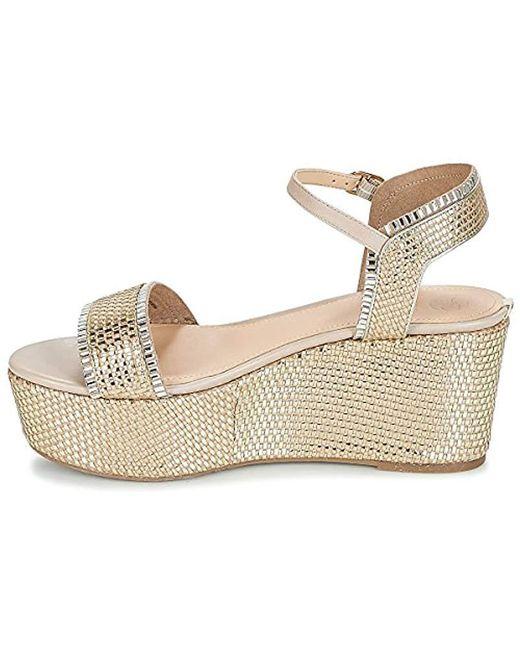 save off ec391 491e8 Women's Metallic Sandalo Zeppa Donna Flls22-lel03 Primavera/estate