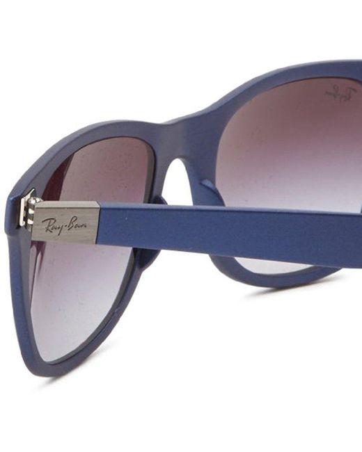 de177d676dc ... Ray-Ban - Blue Mens 0rb4195 Tech Liteforce Wayfarer Sunglasses for Men  - Lyst ...