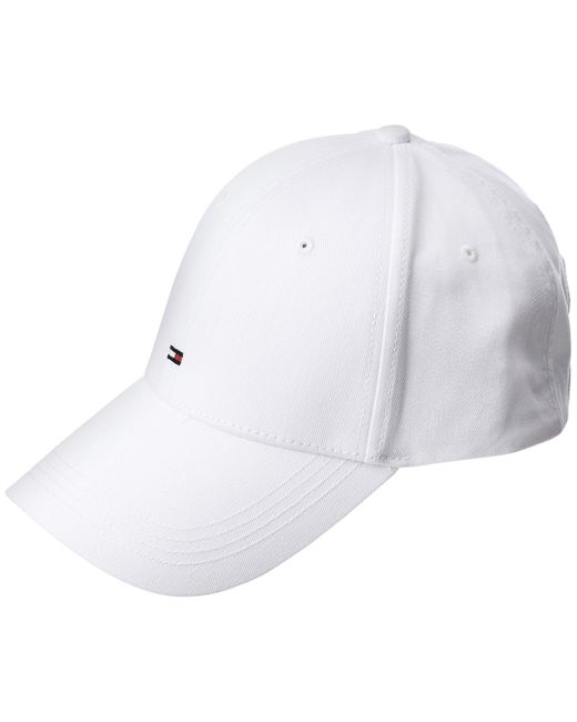 Tommy Hilfiger White Classic Baseball Cap for men