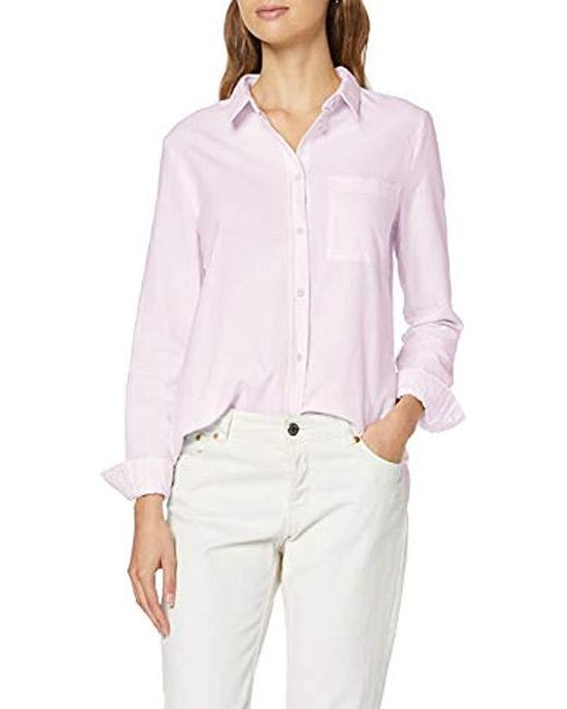 French Connection Pink Rossa Oxford Boyfit Shirt